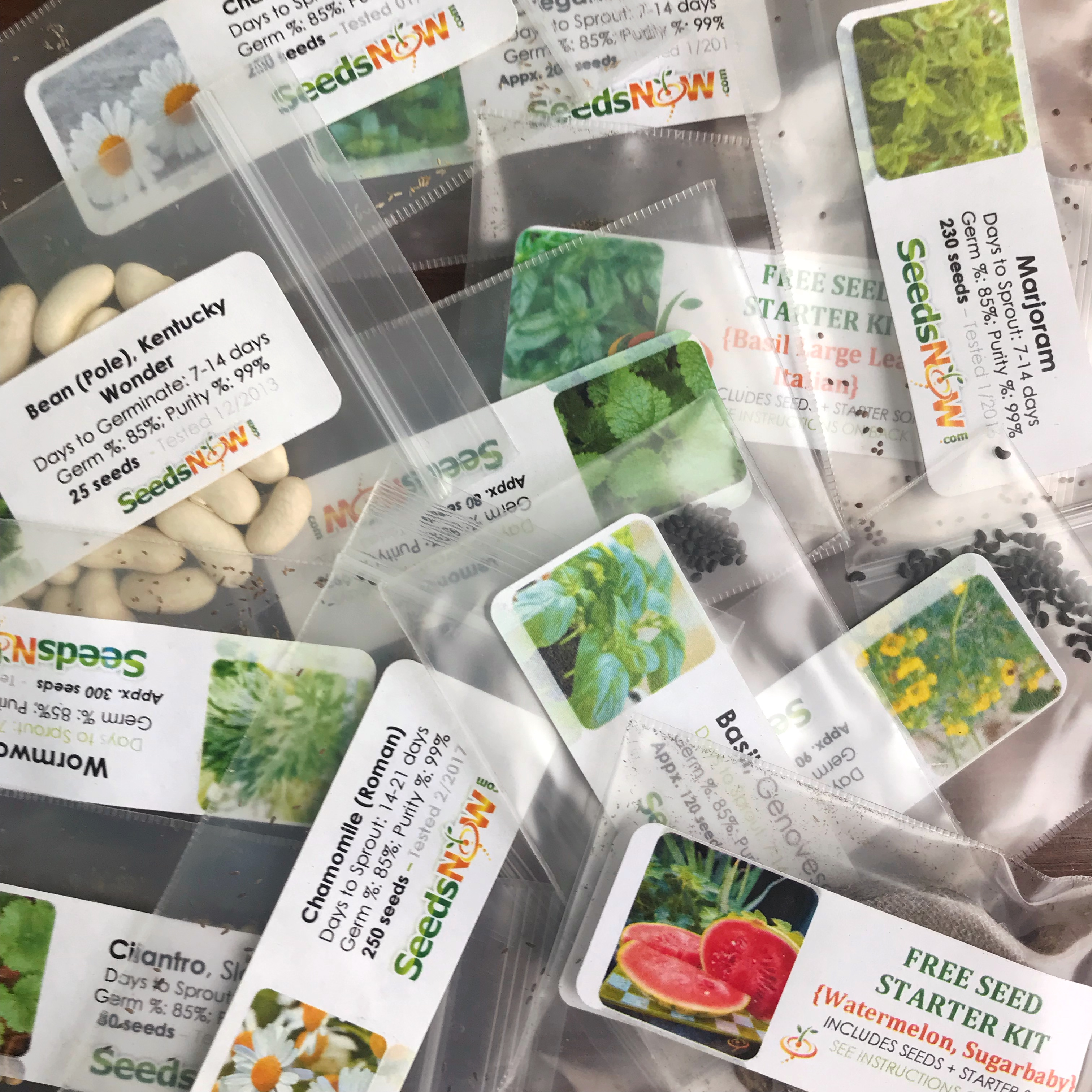 Urban Organic Gardener's Monthly Seed Club